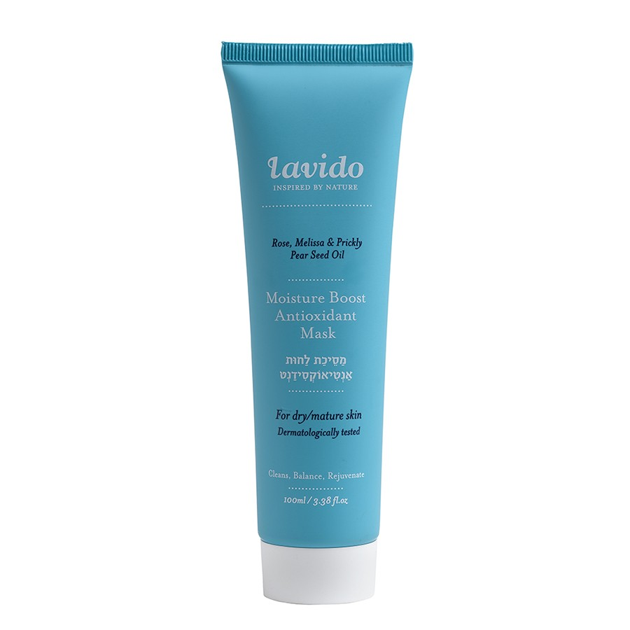 Lavido Moisture Boost Antioxifant Mask Rose, Melissa & Prickly Pear Seed Oil