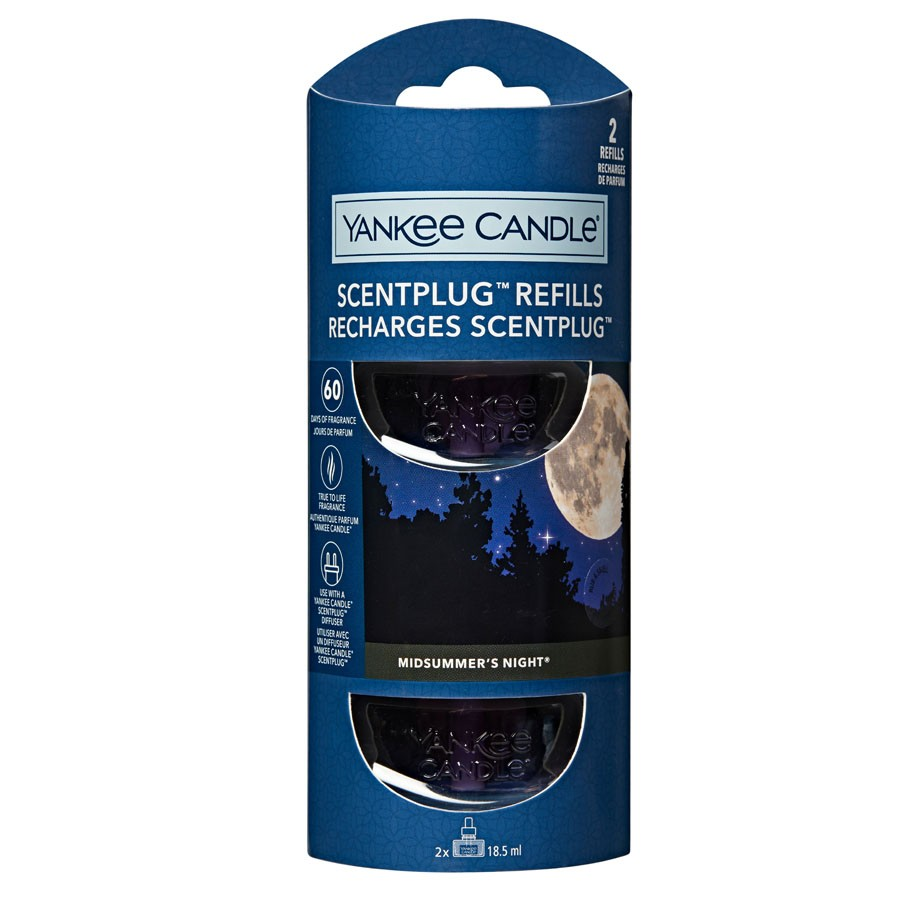 Yankee Candle 2 Scent Plug Refill Midsummer's Night