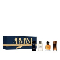 Armani Mens Miniature Fragrance Holiday Gift Set