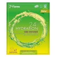7th Heaven 24H Hydration Sheet Mask CBD Infused