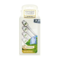 Yankee Candle Car Fragrance Vent Stick Set Clean Cotton