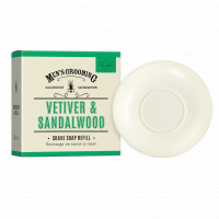 Scottish Fine Soaps Vetiver & Sandalwood Shave Soap