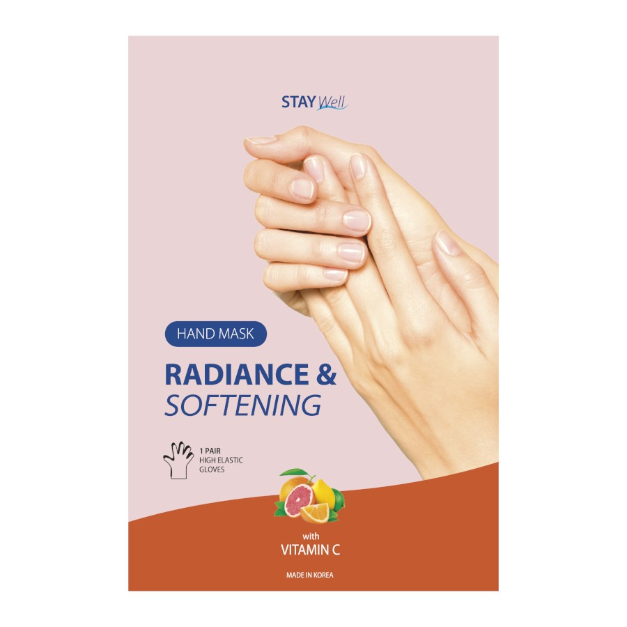 Stay Well Softening Hand Mask C Vitamin Complex