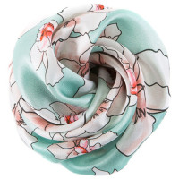 Tie-Me-Up Flowers Cuart On Turquoise