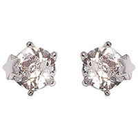 More to Adore Star-Prong Solitaire Earrings