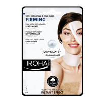 Iroha Cotton Face &Neck MaskPearl-Firming