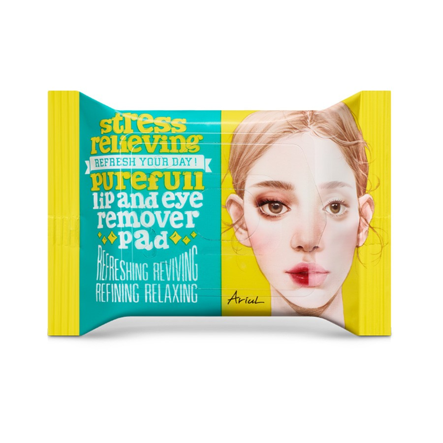 Ariul Lip and Eye Remover Pads