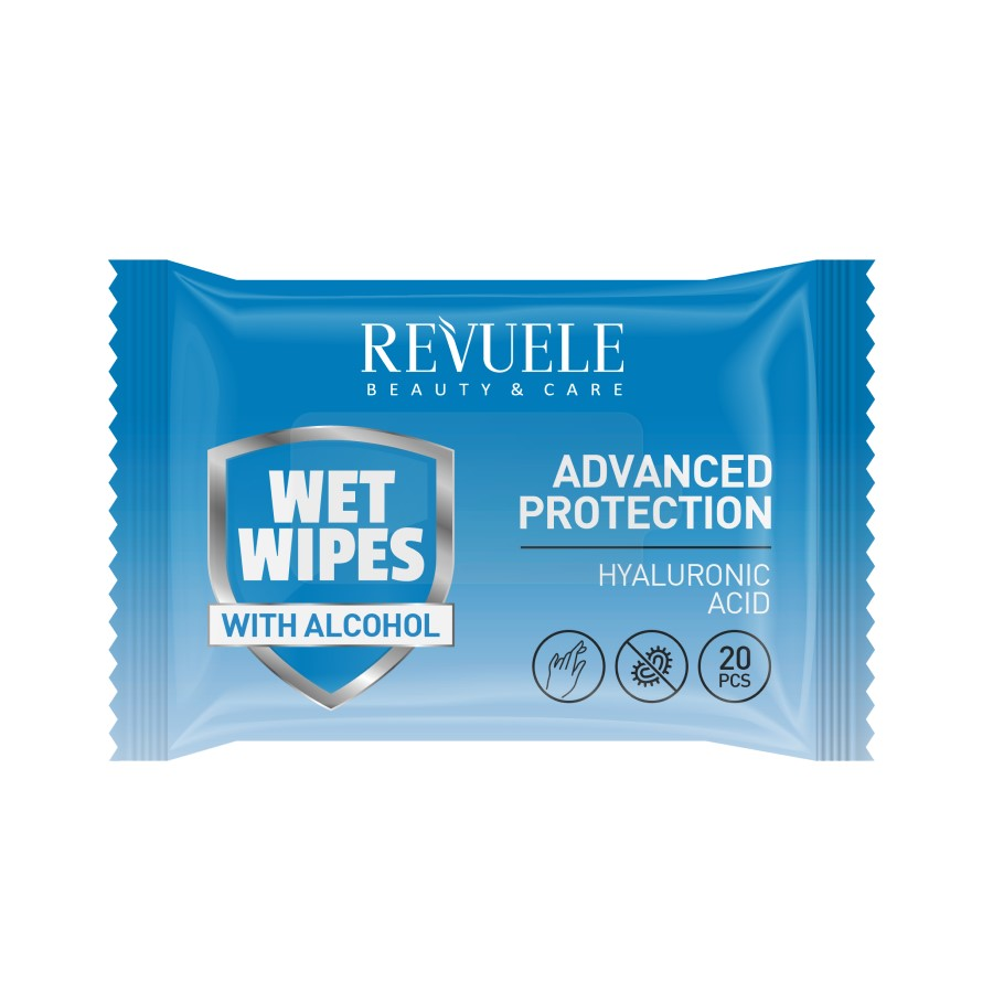 Revuele Wet Wipes Hyaluronic Acid3351