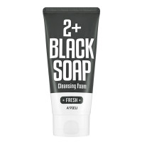 A'PIEU Fresh Black Soap 2+ Cleansing Foam