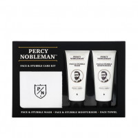 Percy Nobleman  Face & Stubble Care Set