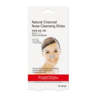 Purederm Nose Cleansing Strips Natural Charcoal