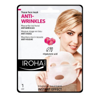 Iroha Tissue Face Mask Anti-Wrinkles Q10 + Hyaluronic Acid