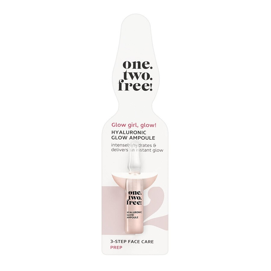 one.two.free! Hyaluronic GlowAmpoules