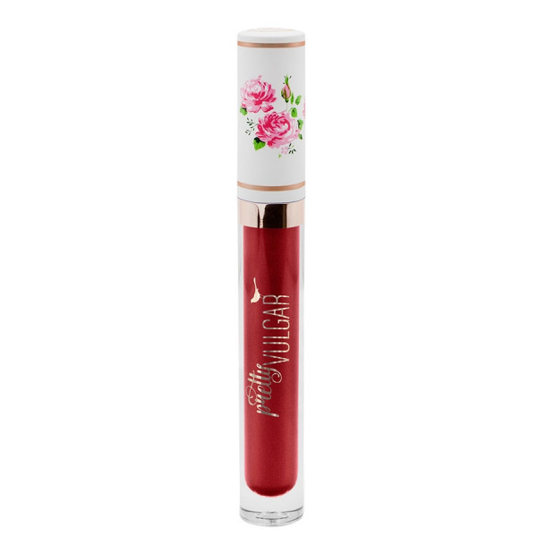 Pretty Vulgar My Lips Are Sealed: Liquid Lipstick