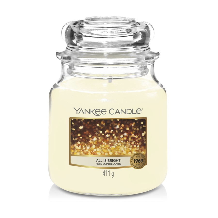 Yankee Candle Candle Jar All is Bright