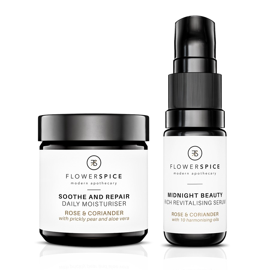 Flower and Spice Skin Care Travel Set