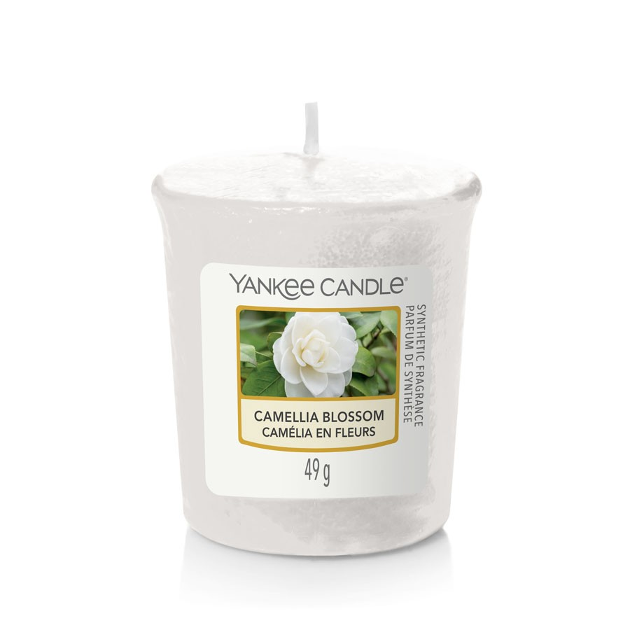 Yankee Candle Candle Votive Camellia Blossom
