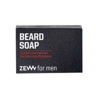 Zew for men Beard Soap with Charcoal