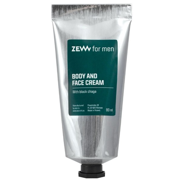 Zew for men Face and Body Cream with Black Chaga