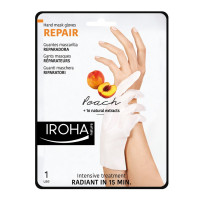 Iroha Hands and Nails Gloves Treatment Regenerating-Peach
