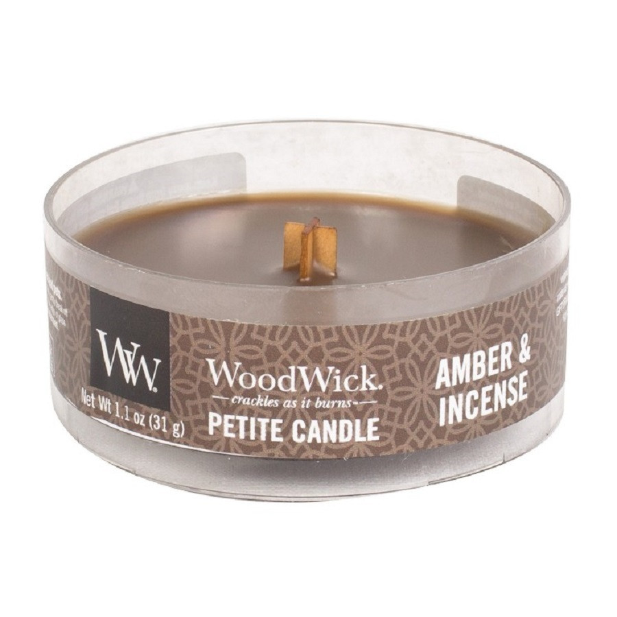 WoodWick Petite Amber And Incense