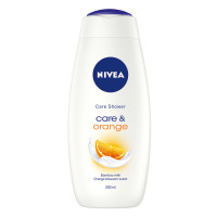 Nivea Gel de Dus Care & Orange