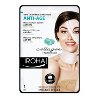 Iroha Cotton Face &Neck MaskAnti-age-Collagen