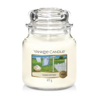 Yankee Candle Candle Jar Clean Cotton