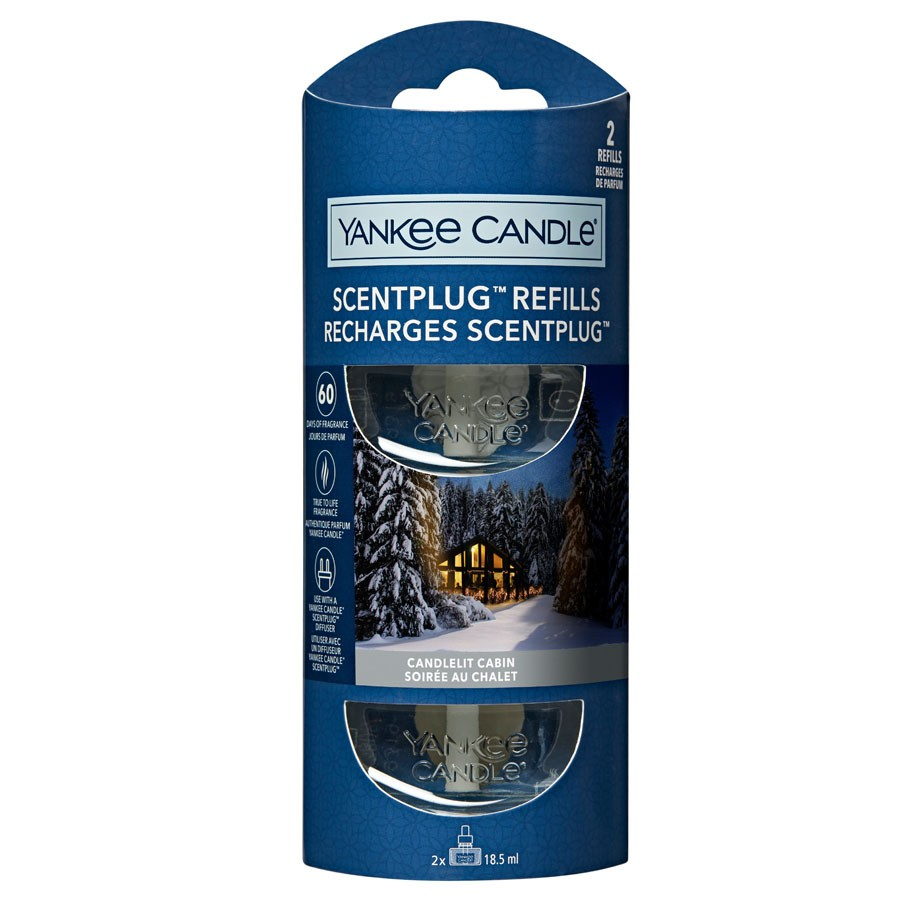 Yankee Candle 2 Scent Plug Refill Candlelit Cabin