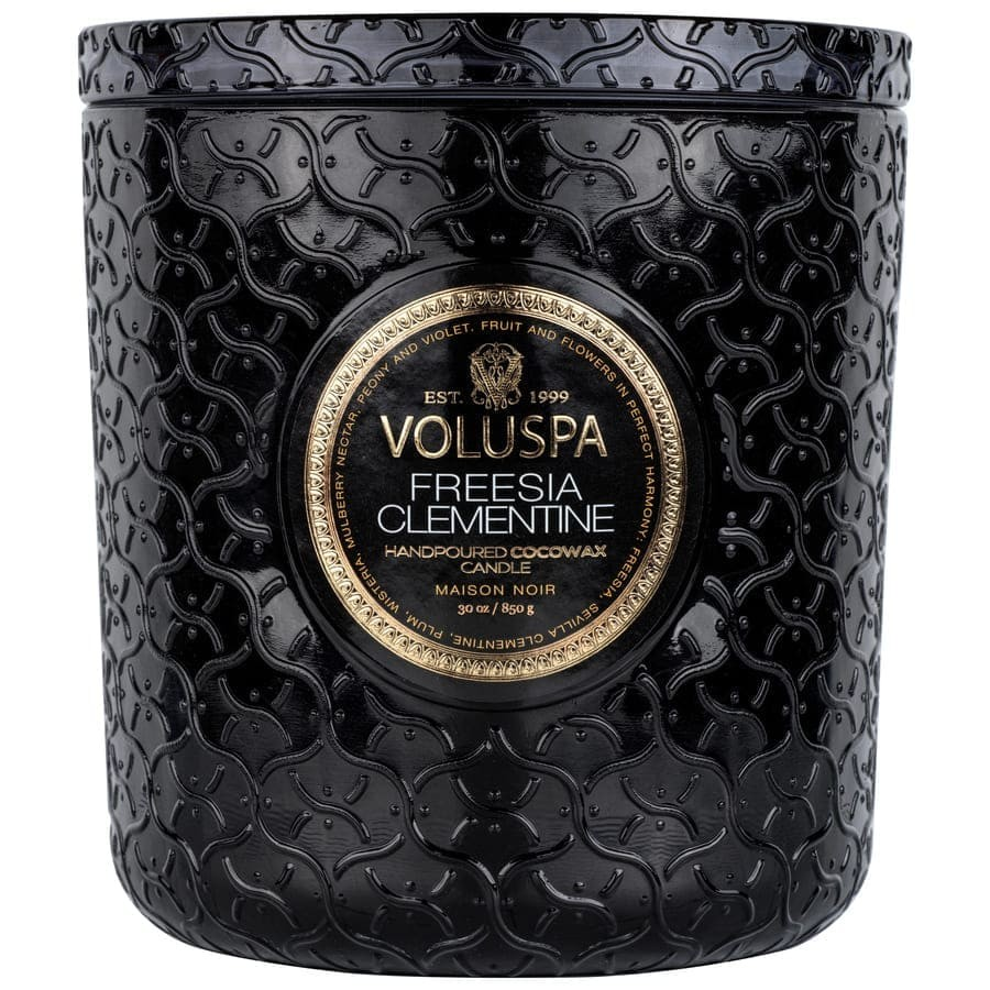 Voluspa Luxe Candle Freesia Clementine