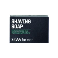 Zew for men Shaving Soap with Charcoal