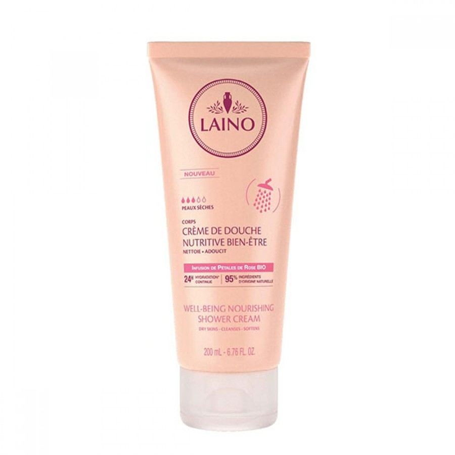 Laino Well-Being Shower Cream with Rose Petals