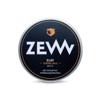 Zew for men Charcoal Hair Clay Matt Strong Hold