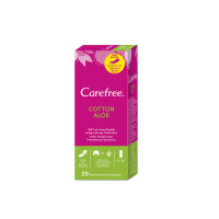 Carefree Set 20 Panty Liners Normal Aloe
