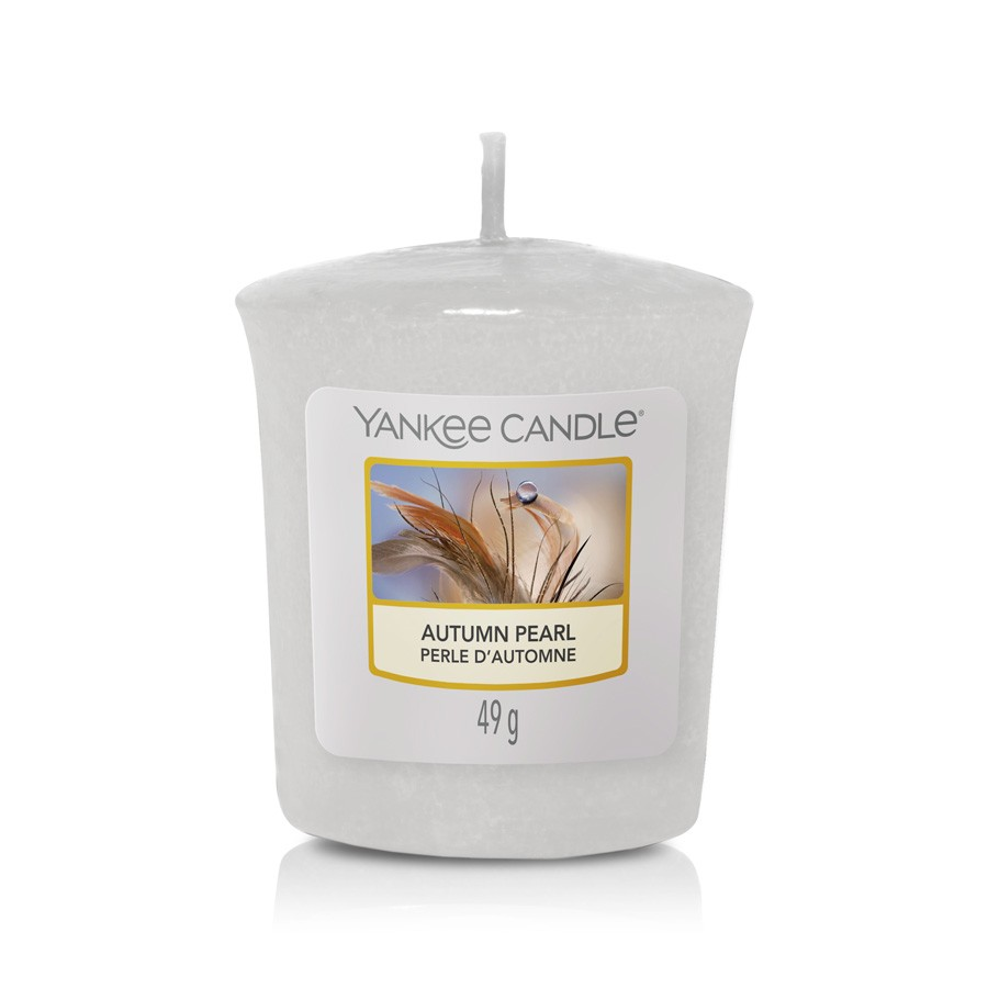 Yankee Candle Candle Votive Autumn Pearl