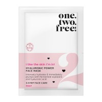 one.two.free! Hyaluronic PowerFace Mask