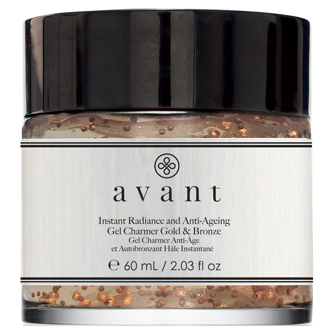 Avant Skincare Instant Radiance and Anti-Ageing Gel Charmer Gold & Bronze