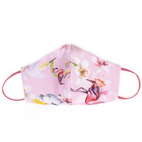 Tie-Me-Up Masca Matase Flamingo Pink