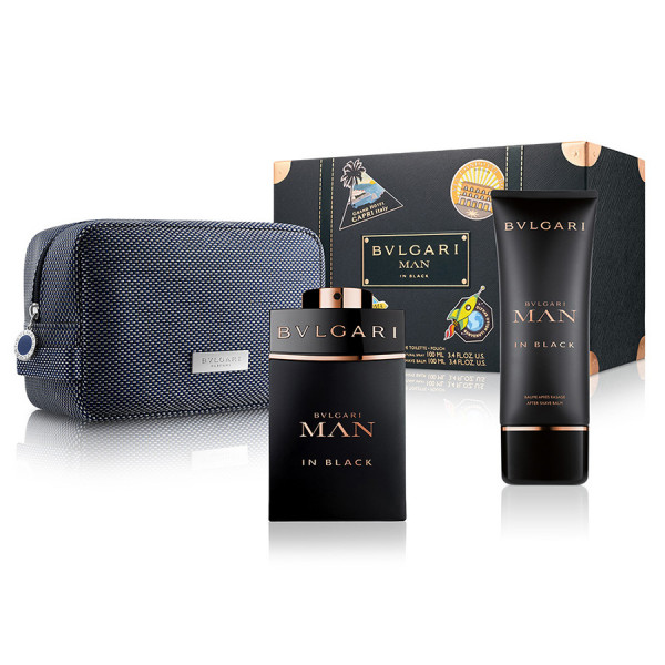 Bvlgari Man In Black Gift Set
