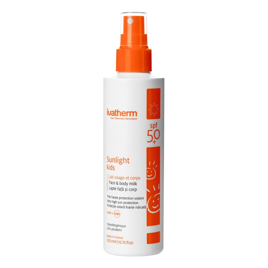 Ivatherm Lapte Fata Si Corp Spf 50+