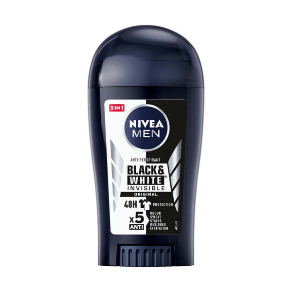Nivea Men Antiperspirant Stick Black & White Invisible Power