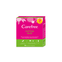 Carefree Set 56 Panty Liners Normal Aloe