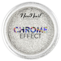 Neo Nail Chrome Effect Powder Silver