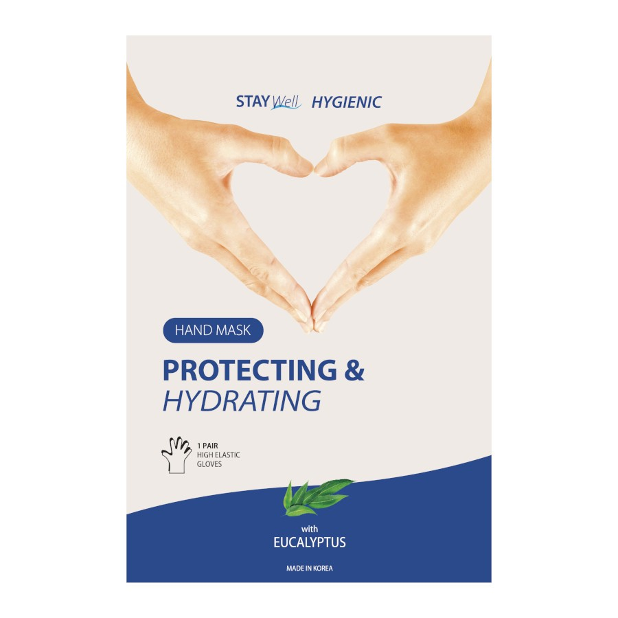 Stay Well Hydrating Hand Mask Eucalyptus