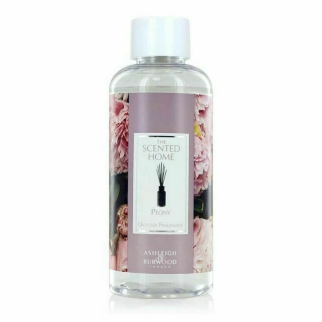 Ashleigh & Burwood Reed Diffuser Bottle Refill Peony