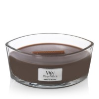 WoodWick Candle Ellipse Amber & Incense