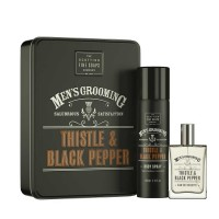 Scottish Fine Soaps Men's Grooming Thistle& Black Pepper Fragrance Duo Set
