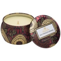 Voluspa Mini Tin Candle Goji Tarocco Orange