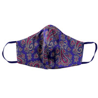 Tie-Me-Up Masca Matase London Paisley