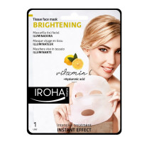 Iroha Tissue Face Mask BrighteningVitamin C +Hyaluronic Acid